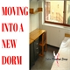 Moving Into a New Dorm