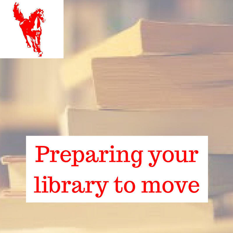 Preparing to move your library
