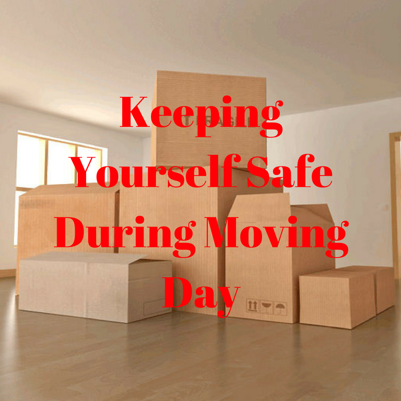 Keeping Yourself Safe During Moving Day