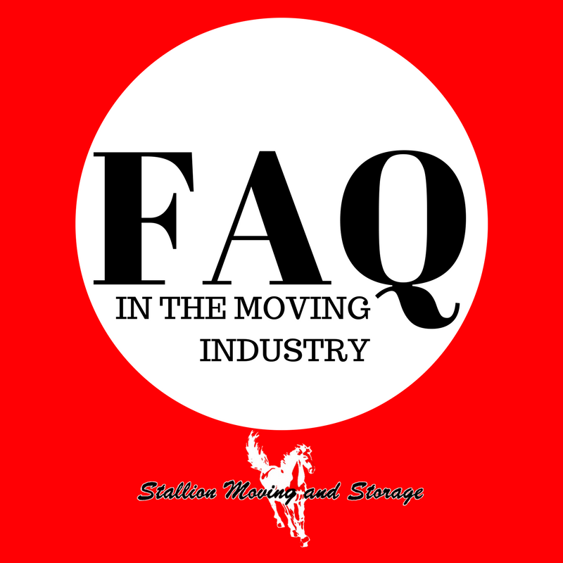 FAQ in the moving industry