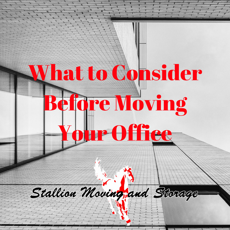 What to Consider Before Your Office Move